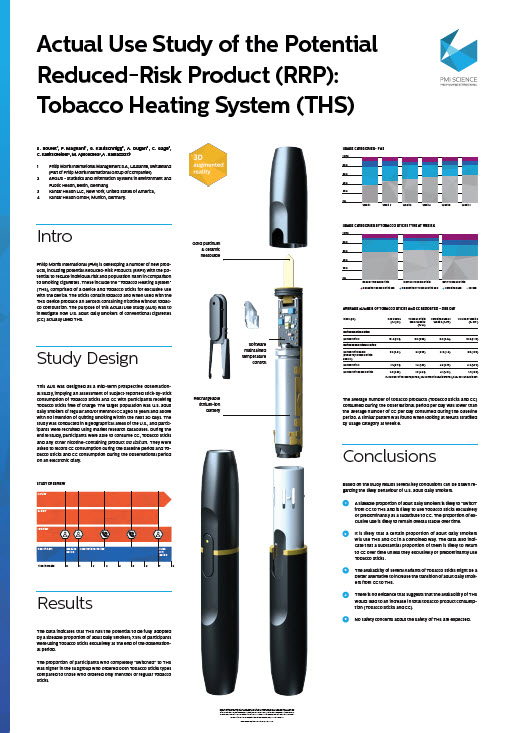 Actual use study of the Potential Reduced-Risk Product (RRP) Tobacco Heating System (THS)_SCREENSHOT