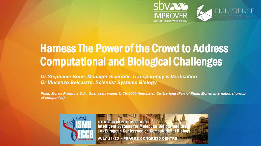 Harness the Power of the Crowd to Address Computational and Biological Challenges_Screenshot_25.07.2017