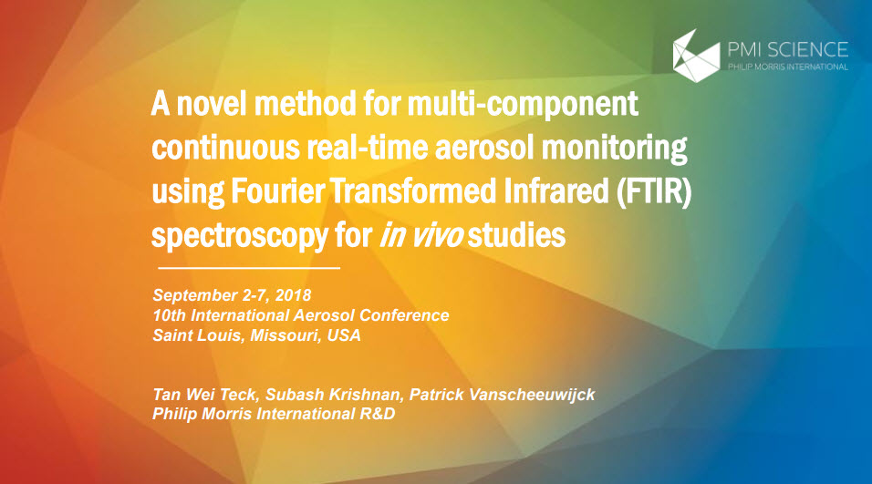 A novel method for multi-component continuous real-time aerosol monitoring using FTIR spectroscopy