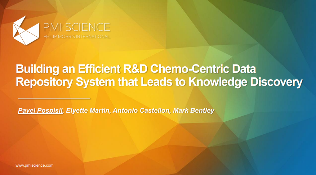 Building an Efficient RD Chemo-centric Data Repository System that Leads to Knowledge Discovery