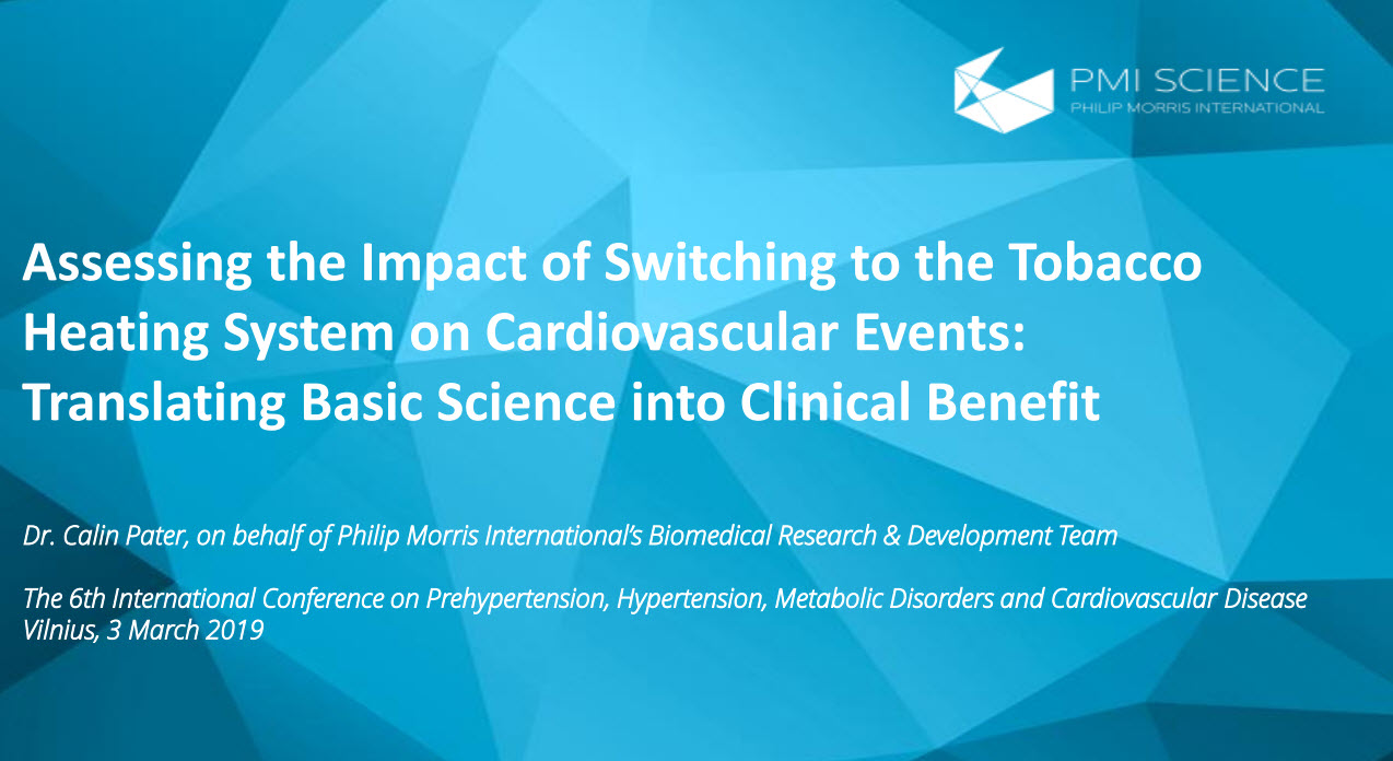 C. Pater_Assessing the impact of switching to the tobacco heating system