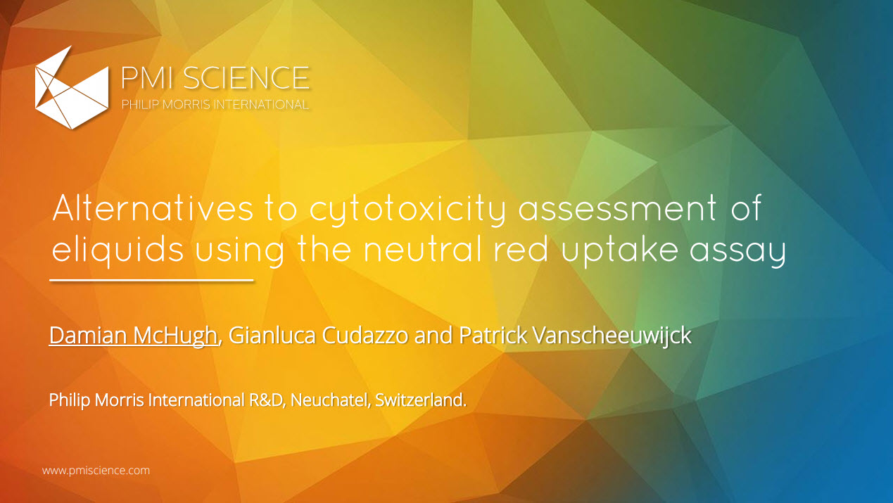 D. McHugh_Alternatives to cytotoxicity assessment of eliquids using the neutral red uptake assay
