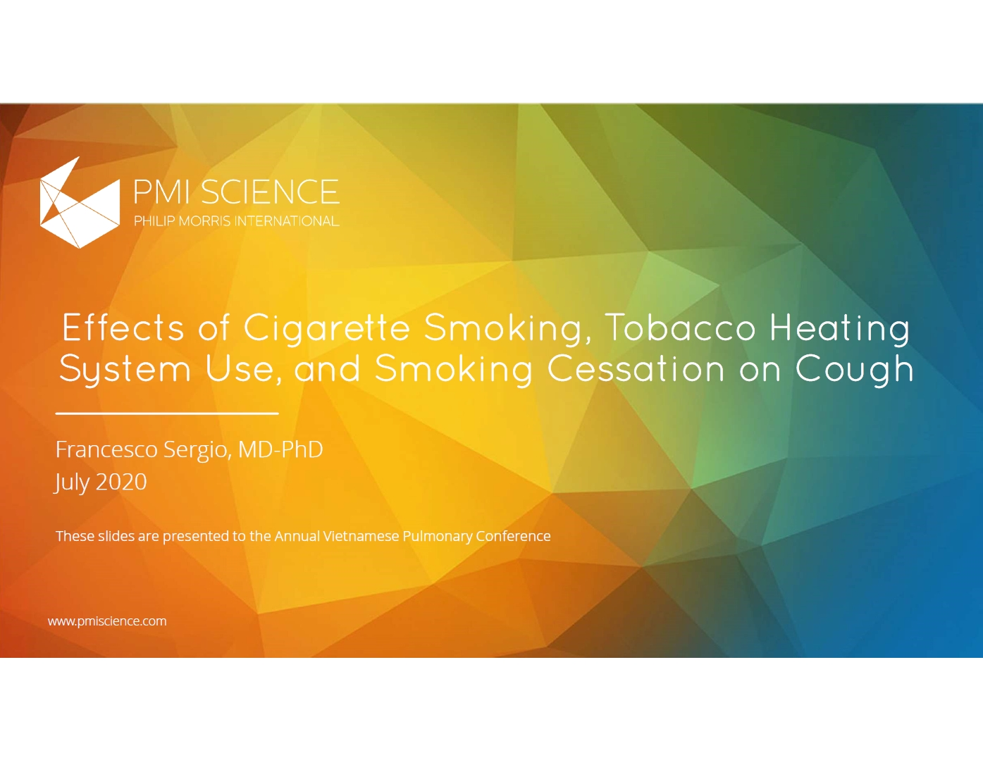 Effects of cigarette smoking tobacco heating system use and smoking cessation on cough