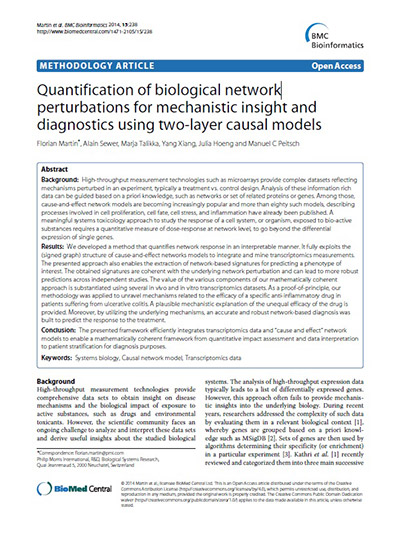 quantification-of-biological-network-perturbations-for-mechanistic-insight-and-diagnostics-using-two