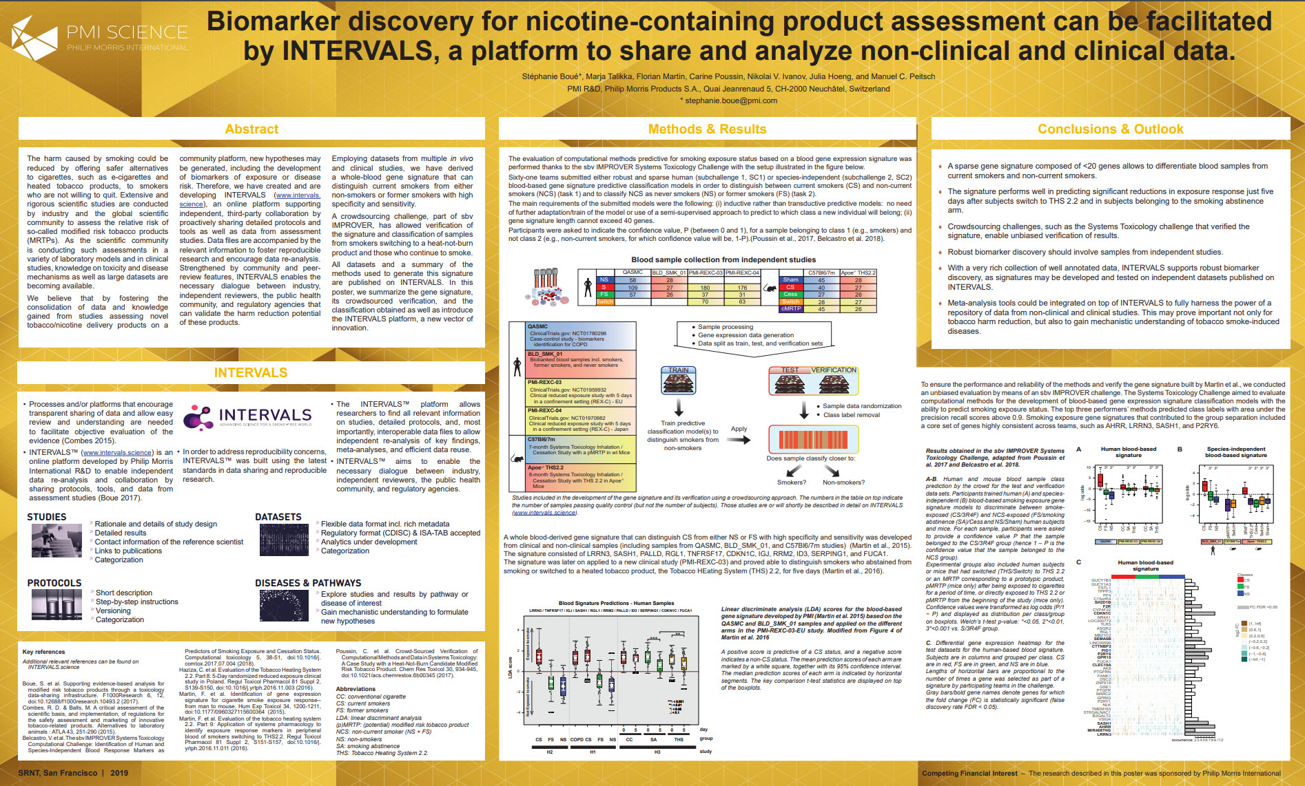 S. Boué_Biomarker discovery for nicotine-containing product assessment